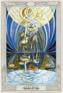聖杯王后-托特塔羅